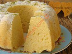 Tereyağlı Limonlu Kek Resimli Tarifi - Yemek Tarifleri Pudding Cake, Pudding Pies, Pastel, Turkish Recipes, Ethnic Recipes, Cornbread, Cupcakes, Cake Cookies, No Bake Cake