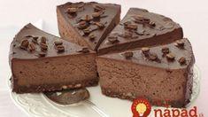 Toto zatieni aj kupované torty z cukrárne: Nepečená čokoládová smršť – takú dobrotu ste už dávno nejedli! Rum, Food To Make, Biscuit, Cheesecake, Yummy Food, Recipes, Food Food, Sweet Treats, Mascarpone