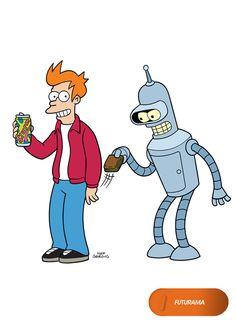 Novas histórias intergaláticas, o mesmo Bender. Futurama - Nova temporada, 8 de…