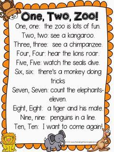 Znalezione obrazy dla zapytania animals poems for preschool