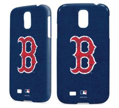 Boston Red Sox - Solid Distressed inkFusion Lite Samsung Galaxy S4 Case by Skinit