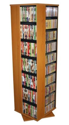 s VHS Tapes Disney Tapes Organize An Entire Media Collection These 4 sided beauties will brigh. Media Storage Tower, Cd Storage, Audio Installation, Home Tv, Sound & Vision, Multimedia, Furniture Decor, Cherry Cherry, Vhs Tapes