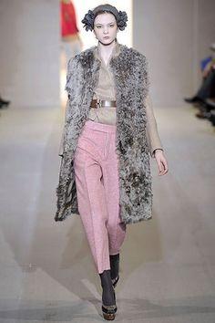 Marni Fall 2008 Ready-to-Wear Fashion Show - Irina Kulikova