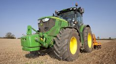John Deere 6190 being tested by Power Farming. See the review and video at http://powerfarming.co.uk