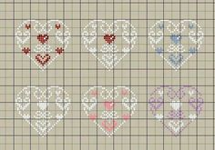 Cross stitch heart                                                                                                                                                                                 Plus