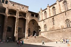 Barcelona is one of the oldest cities on the Iberic Peninsula. Traces of ancient Barcino are found all the time and some are open to the public. Barcelona Tourism, Old City, Romans, Old Things, Louvre, Street View, Building, Travel, Museums