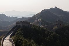 Die chinesische Mauer und eine Geschichte von Hagrid und mir.