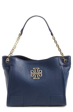Tory Burch 'Small Britten' Leather Tote | Nordstrom