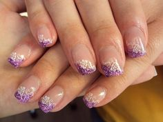 Gel-nail-art-purple