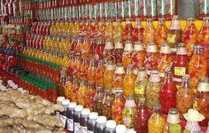 MERCADO MUNICIPAL ANTÔNIO FRANCO em Aracaju   Todos os tipos de pimenta