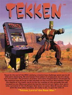 arcade tekken - Google Search