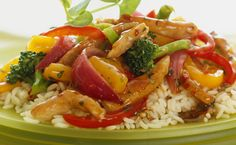 Recipe for Fertility: Low Glycemic Diet Recipe for Fertility: Chicken Stir Fry from Pulling Down the Moon Chicken Broccoli Stir Fry, Vegetable Stir Fry, Chicken And Vegetables, Cooked Chicken, Recipe Chicken, Vegetarian Brunch Recipes, Vegetarian Lunch, Dinner Recipes, Epicure Recipes