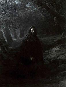 Nikolai Ge - über den Berg von oliven