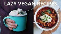 VEGAN RECIPES FOR LAZY DAYS  #DAYS #LAZY #Recipes