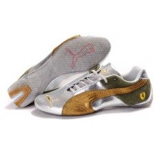 8f5218d966 Puma Future Cat Women Silver Golden