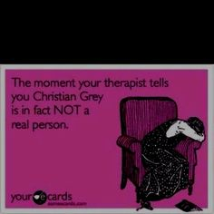 If I had a therapist, they would, in fact, have to tell me this. Repeatedly I feel! ;)