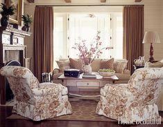 Soft and Feminine Living Room