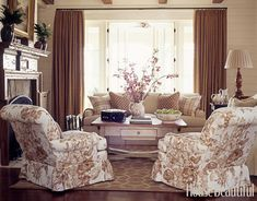 Soft and Feminine Living Room