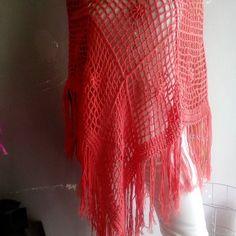 poncho #poncho  #ponchos  #summers  #summer17  #handmadegifts  #handmade  #bohostyles  #boho  #bohostyle  #bohochic  #boheme  #knittinglove  #knitting_inspiration  #knitting  #knits  #knittings  #knittingaddict  #knittinglife  #crochets  #crocheting  #crochet  #fashion  #fashionlove  #fashionblogger  #fashionstyle  #clothes  #clothing  #unique Crochet Fashion, Knits, Crocheting, Boho Fashion, Boho Chic, Crochet Top, Knitwear, Knitting, Unique