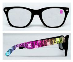 One Direction Rainbow Faux Glasses - Price: $15.99