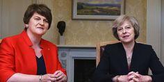 Foster i May podpisały porozumienie o poparciu rządu