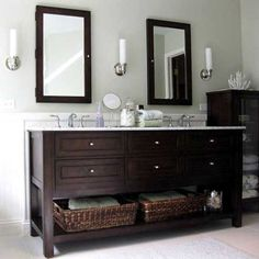 This is a great solution for those who need more bathroom storage.