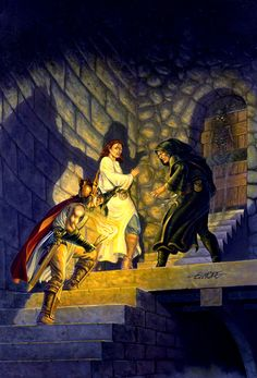 Larry Elmore - A Father's Struggle - Dragonlance