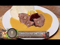 Svíčková na smetaně - Národní poklad - YouTube Steak, Pork, Beef, Cooking, Youtube, Daisy, Kitchens, Drinks, Czech Recipes