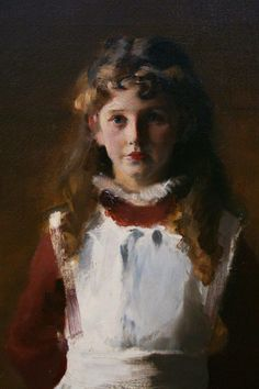 """https://www.facebook.com/MiaFeigelson """"The Daughters of Edward Darley Boit"""" (1882) [Detail] (Mary Louisa Darley Boit, aged 8) By John Singer Sargent, from Gloucester, Massachusetts, US (1856 - 1925) - oil on canvas; 221.93 x 222.57 cm; 87 3/8 x 87 5/8 in - © Museum of Fine Arts, Boston, Massachusetts, US http://www.mfa.org/ https://www.facebook.com/mfaboston"""