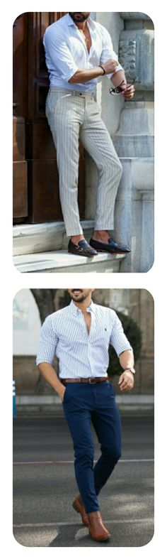 White shirt with blue and grey formal trouser/pant,it has  brown leather belt with shoes #mensfashion #shoes #whiteshirts #shirts #shirt #whiteshirtoutfit #formaloutfits #outfit #menswear #mensstyle #guystyle #formalwear
