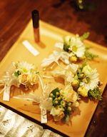 Flowers, Wedding, Yellow, Boutonnieres, Farm