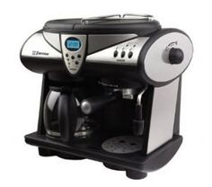 Exclusive Emerson CCM901 Programmable Combination Coffee Espresso and Cappuccino By EMERSON - http://teacoffeestore.com/exclusive-emerson-ccm901-programmable-combination-coffee-espresso-and-cappuccino-by-emerson/