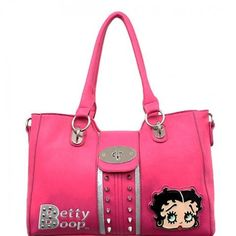 Official Betty Boop® Spike Studded Handbag