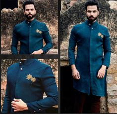 Men's Traditional Wear Wedding Kurta For Men, Wedding Dresses Men Indian, Wedding Dress Men, Wedding Suits, Trendy Mens Fashion, Indian Men Fashion, Mens Fashion Suits, Mens Indian Wear, Mens Ethnic Wear