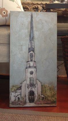 Woodmont Church Nashville Cross Art, Building Art, Abstract Canvas Art, Easy Paintings, Christian Art, Texture Art, Painting Inspiration, Diy Art, Folk Art