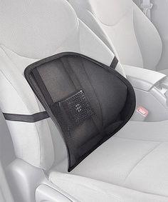 Black Air Cool Lumbar Cushion