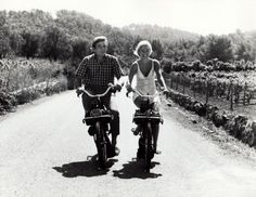 "Ride through the South of France. Still from ""The Picasso Summer."""
