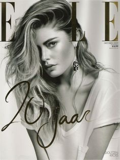 Elle...I thank you for being doutzen to be the cover for this special issue...:)