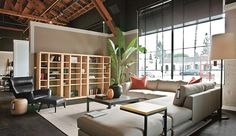 Furniture Stores in Phoenix: Breathtaking Furniture Stores In Phoenix With Furnished Alcove Shelves Also Banana Tress Indoor Planters And Cream Cool Sofas Using Orange Ikea Pillows Brown Sectional Sofa As Well Floor Lamps Ikea ~ surrealcoding.com Furniture Inspiration