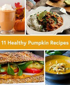 11 Surprisingly Healthy and Delicious Pumpkin Recipes #healthy #recipes