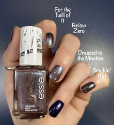 Essie Originals Remixed Collection Comparisons are shown here to help you decide if there are any must haves, or if you already have similar colors. Essie Nail Polish Colors, Mauve Nails, Nail Colors, Hot Nails, Hair And Nails, Smokin Hot Essie, Beauty Advice, Beauty Ideas, Beauty Secrets