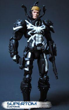 "Agent Venom 4"" Custom Action Figure"