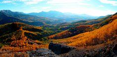 Sneffels Highline Trail, Colorado. September 2015