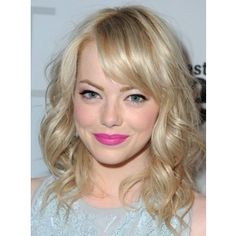 medium length blonde hair cut
