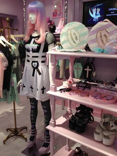 Watch La Carmina's profile on Fashion One TV network! Featuring the cutest Tokyo fashion including fairy kei, pastel goth, Lolita dresse and hime princess style. MORE: http://www.lacarmina.com/blog/2015/06/kokokim-tokyo-cute-shopping-fashion-tv/  kokokim fairy kei pastel goth fashion