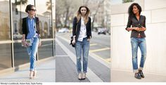 9 Sophisticated Ways to Wear Ripped Jeans / Glamour
