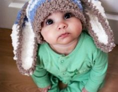 moro-kouneli. Fat baby cheeks and bunny ears...oh my!