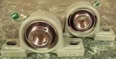 """2pc 7 8"""" Ball Bearing Block Units New Mounting"""