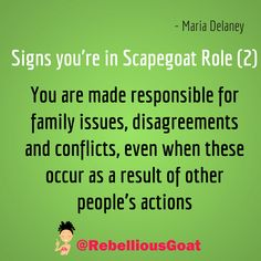 Quote 371 - responsible for family issues