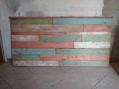 Respaldo De Cama En Madera Reciclada Pallet Patinado Vintage - $ 2.100,00 Wood Design, Ideas Para, Fun Ideas, Outdoor Furniture, Outdoor Decor, Decoration, Decoupage, Sweet Home, Tropical